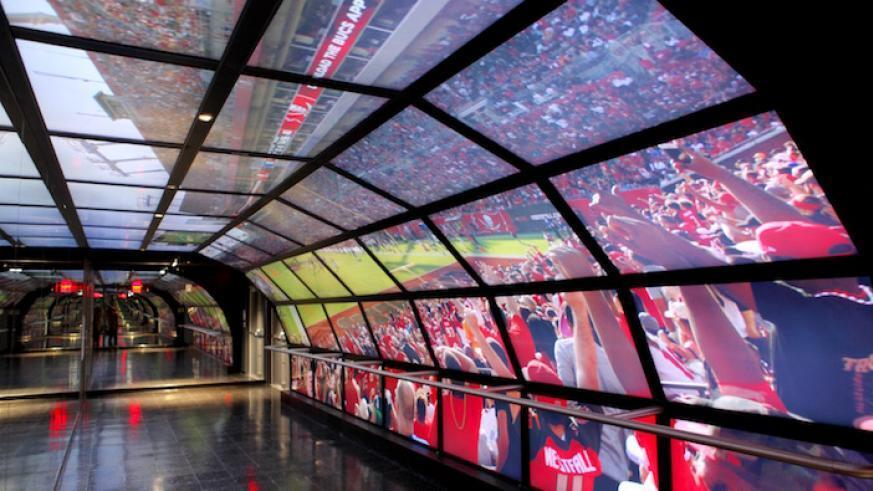 O NFL Experience fica a poucos metros da Times Square