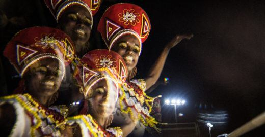 Ilê Aiyê faz show no Auditório Ibirapuera com grandes convidados