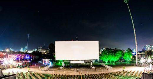 O maior cinema ao ar livre do mundo confirma data em SP