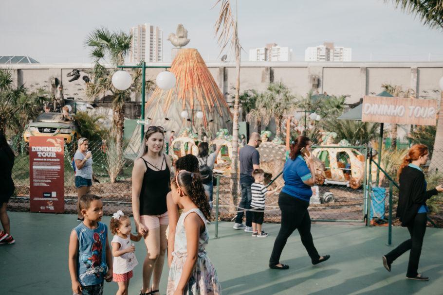 O foco do parque é o público infantil, por isso, não espere nada muito radical.