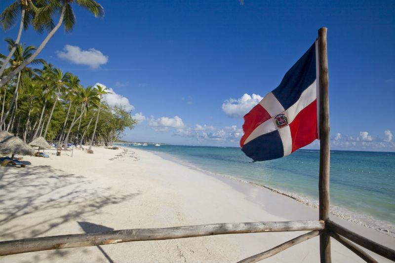 As praias de Las Terrenas são tranquilas