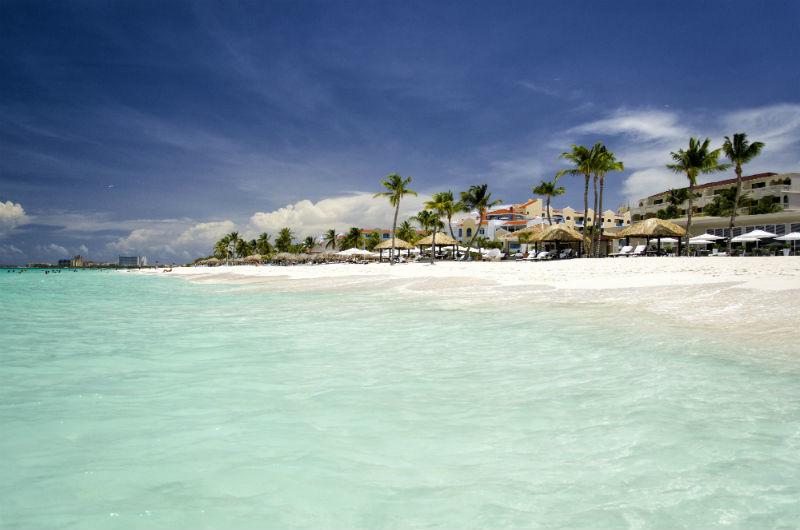 Aruba tem mais dias de sol por ano do que qualquer outra ilha do Caribe