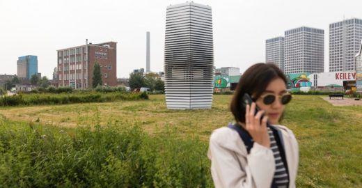 Saiba como funciona o maior purificador de ar do mundo