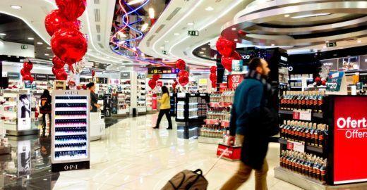 Governo estuda elevar limite de compras em 'free shops' para US$ 1 mil