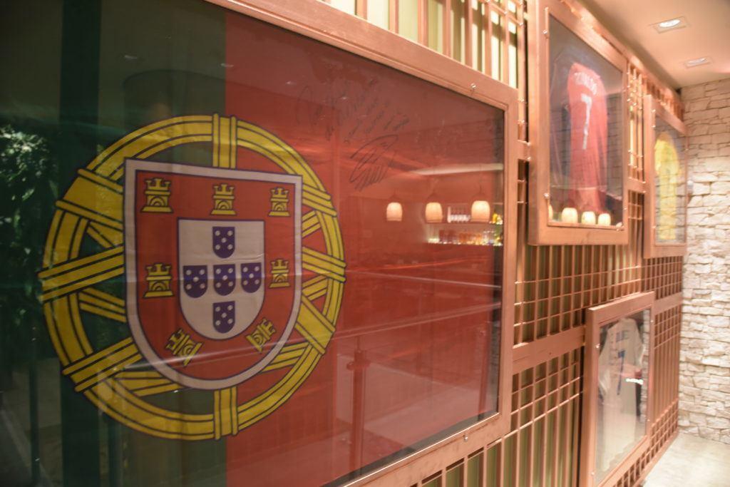 O restaurante da família de Cristiano Ronaldo foi inaugurado no começo de julho