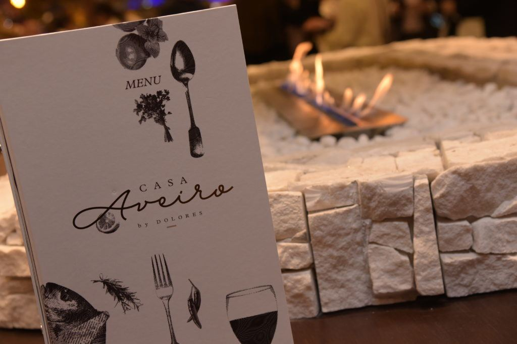 O Casa Aveiro by Dolores é o primeiro restaurante de gastronomia portuguesa da Serra Gaúcha