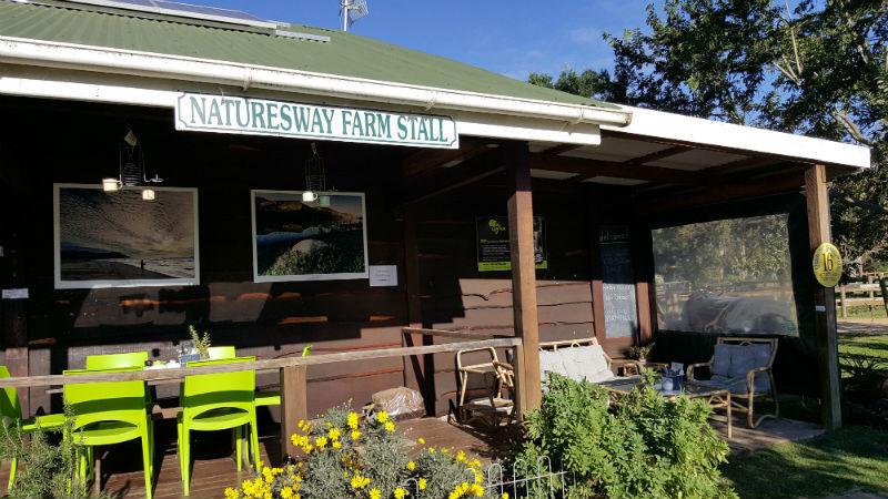 Fachada do restaurante de Nature's Way Farm Stall