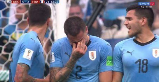 Os memes do jogo França x Uruguai pelas quartas de final da Copa