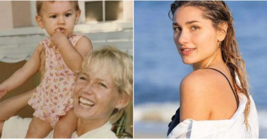 Xuxa celebra aniversário de 20 anos de Sasha