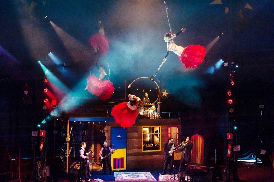Circo Zanni faz apresentações no teatro do Sesc Vila Mariana entre 6 e 9 de julho