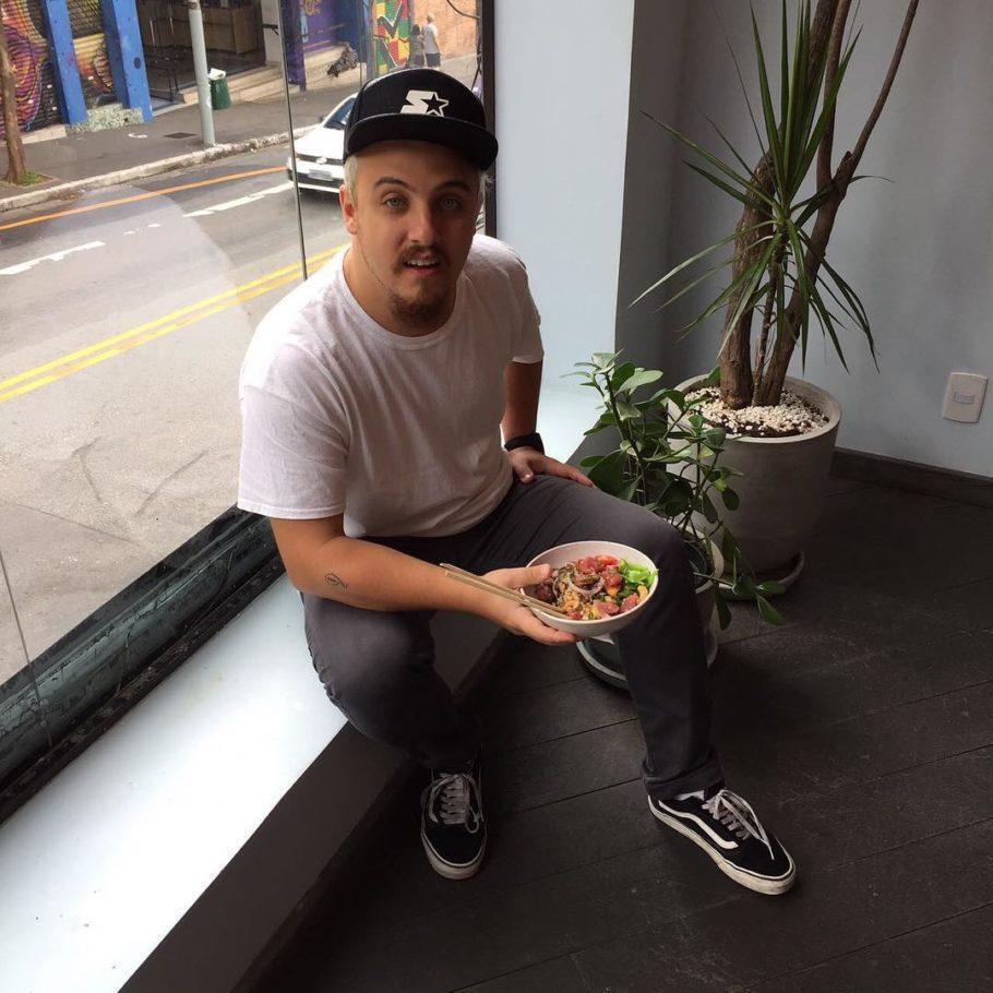 O chef Ravi Leite, participante da edição 2017 do MasterChef Profissionais