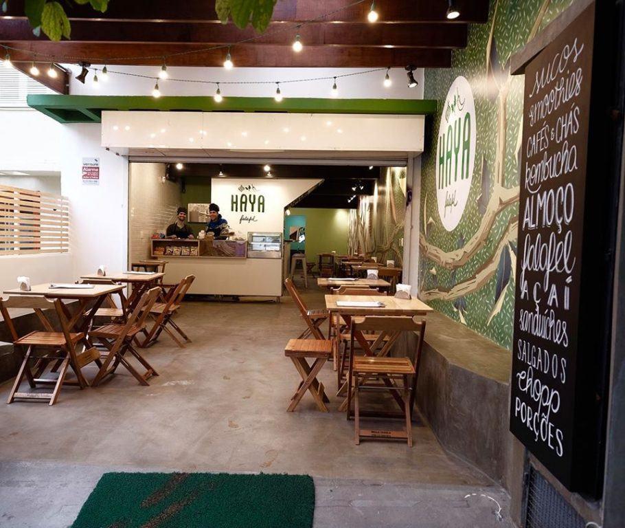 O Haya Falafel abriu na rua Marinho Falcão, 55.