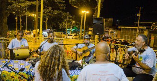 'A Gloriosa nos Coretos e Praças' leva roda de samba às ruas
