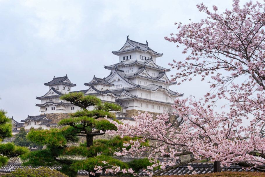 O castelo de Himeji serviu como uma das locações do filme 'Ran', de 1985, um dos clássicos de Akira Kurosawa