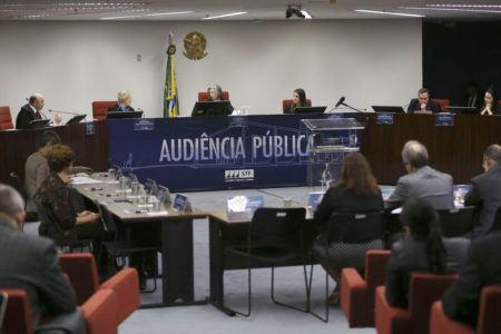Audiência pública no STF sobre aborto