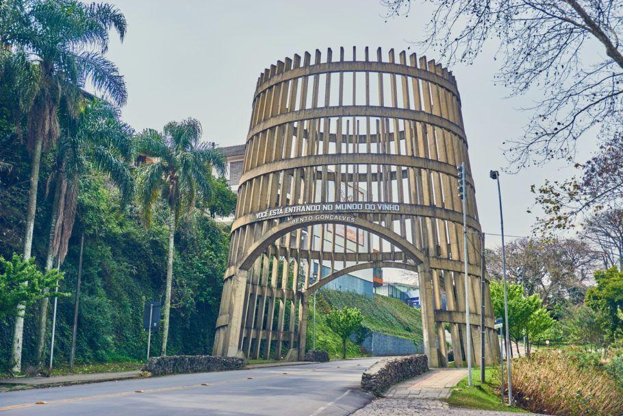 Pórtico de entrada de Bento Gonçalves, Serra Gaúcha