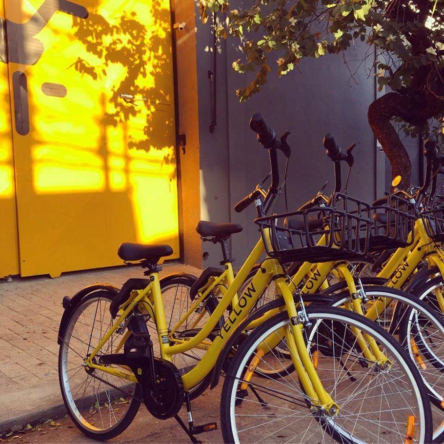O sistema de bicicleta compartilhada não estabelece pontos fixos de estacionamento do veículo