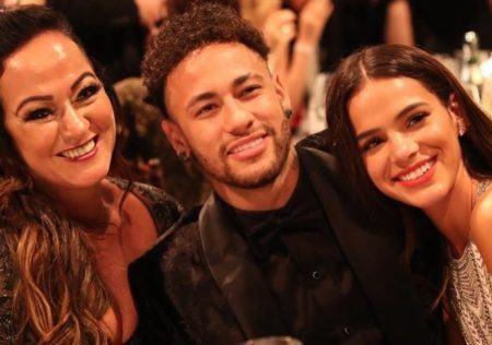 Bruna Marquezine, Neymar e Nadine Gonçalves