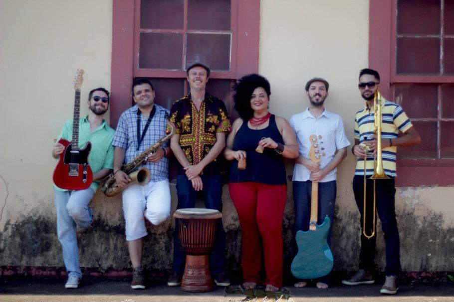 Integrantes da Banda Cafuá