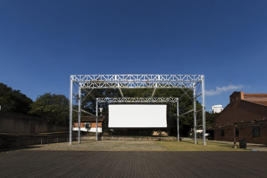 área externa da cinemateca brasileira