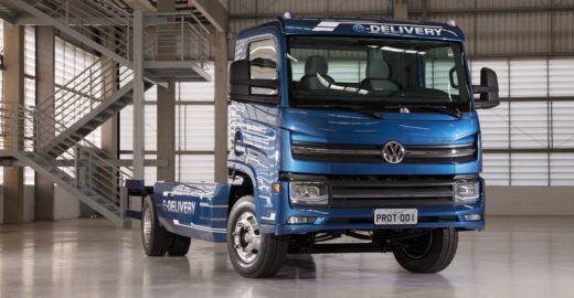 Caminhão elétrico é aposta da Volkswagen para o mercado nacional