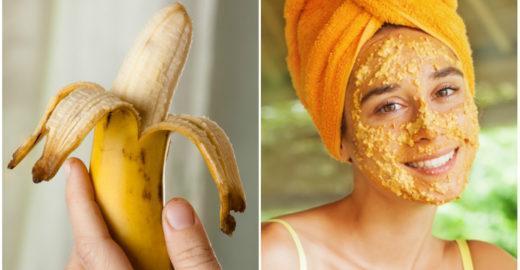 Como tirar acne, rugas e manchas? A casca da banana pode ajudar