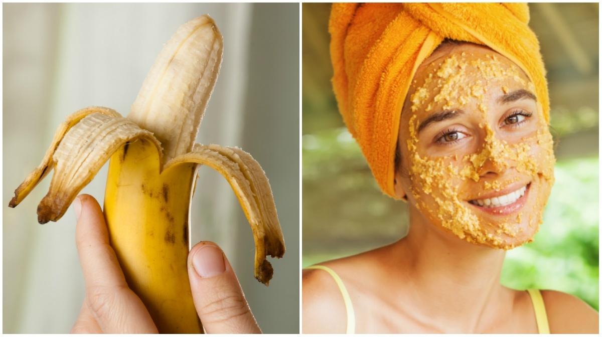 Sabia como combater acne, rugas e manchas usando casca de banana