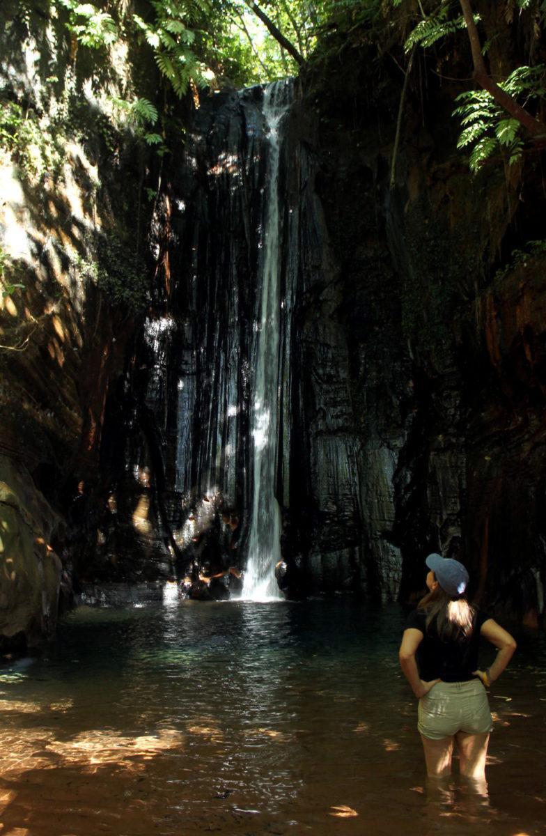 Cachoeira do Capelão, uma das atrações de Pedra Caída, na Chapada das Mesas