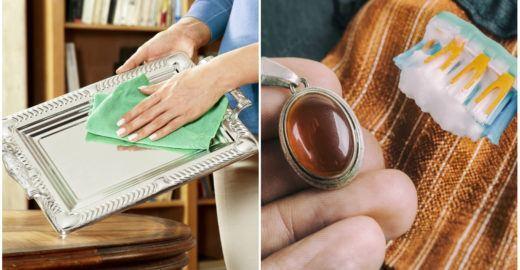 Como limpar prata com 8 ingredientes que você tem em casa