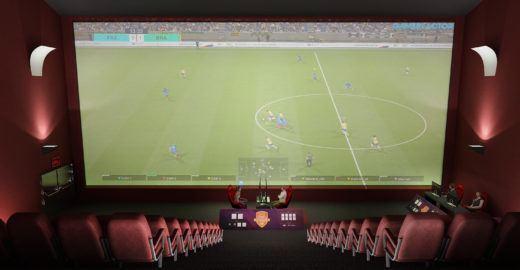 Vídeo game no cinema: campeonato de futebol tem entrada franca