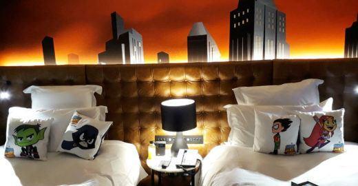 Hotel Pullman tem quarto temático dos 'Jovens Titãs'