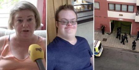 Jovem com síndrome de Down morto na Suécia