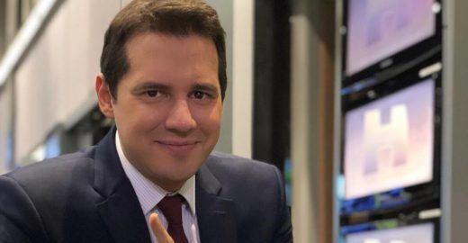 Dony De Nuccio diz ter hérnia e explica ausência do Jornal Hoje