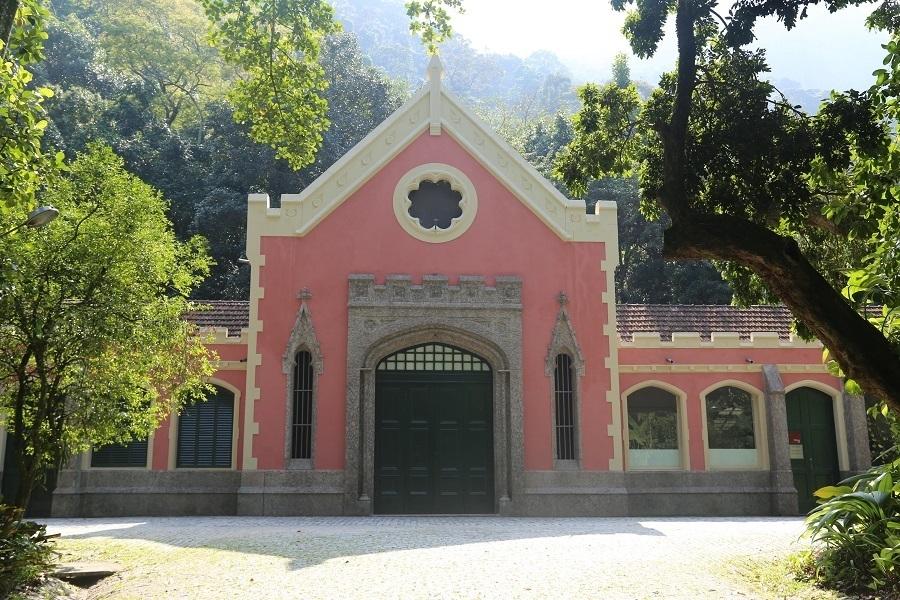 Cavalariças da Escola de Artes Visuais do Parque Lage