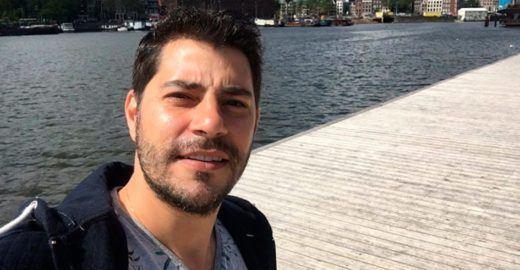 Evaristo Costa exibe físico musculoso e é acusado de montagem