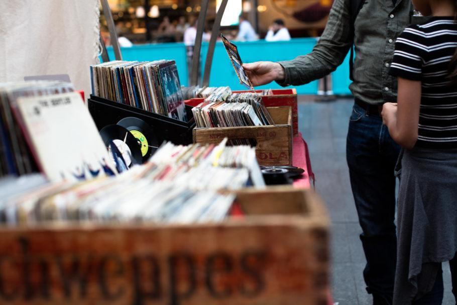 Lojas de discos em SP