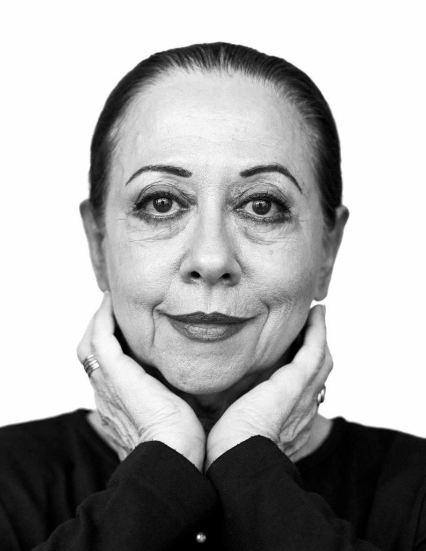 Fernanda Montenegro foi uma das personalidades clicadas por Wolfenson