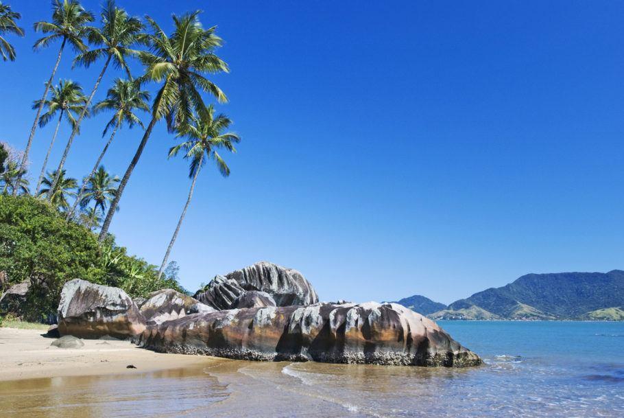 Praia em Ilhabela
