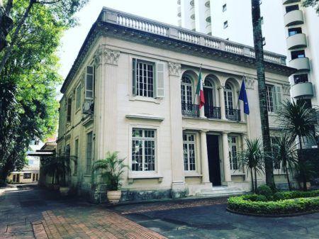 O Instituto Italiano di Cultura fica no bairro do Higienópolis