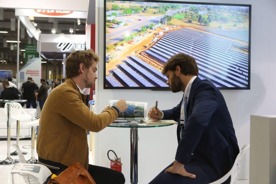 A Intersolar South America 2018 também é um balcão de negócios