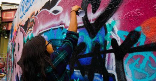 Oficina grátis de 'Técnicas de desenho para grafitti' no ABC