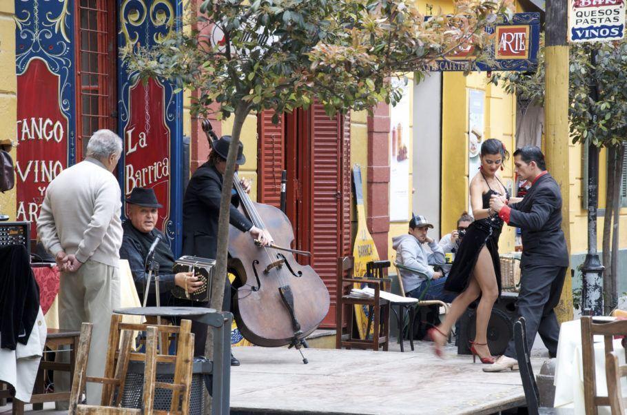 Tango rua Buenos Aires