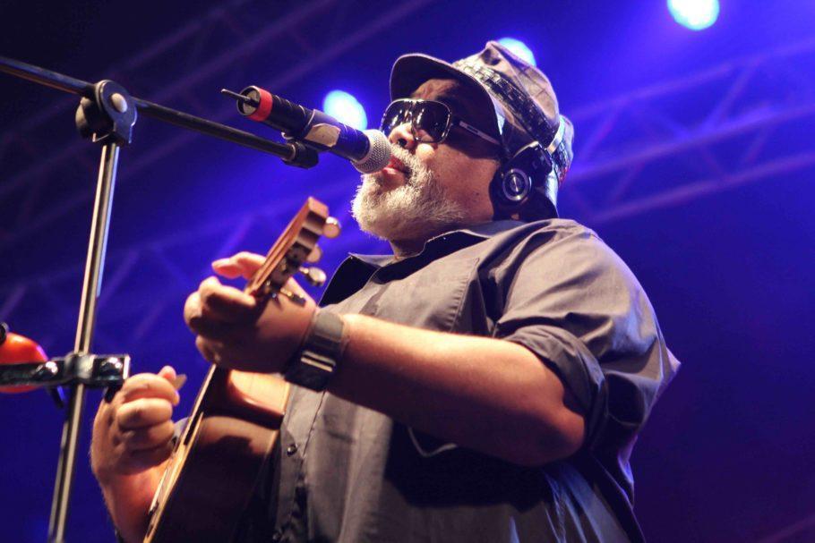 Jorge Aragão no palco
