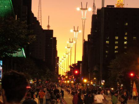 foto da avenida Paulista