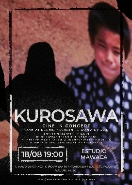 """Estúdio Mawaca, em São Paulo, será palco da exibiçãodo filme """"Sonhos"""" com trilha sonora executada ao vivo peloYUME PROJECT"""