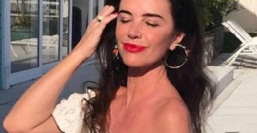 Luma de Oliveira posta com chão torto e fãs apontam Photoshop