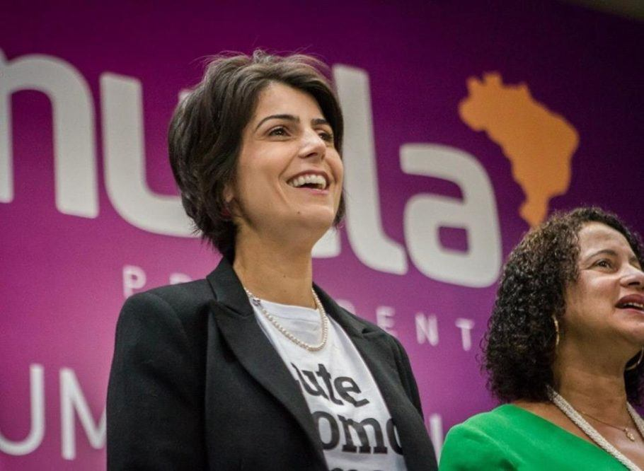 Manuela D'Ávila em convenção