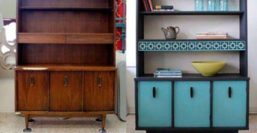 50 ideias para renovar móveis antigos e dar cara nova ao lar