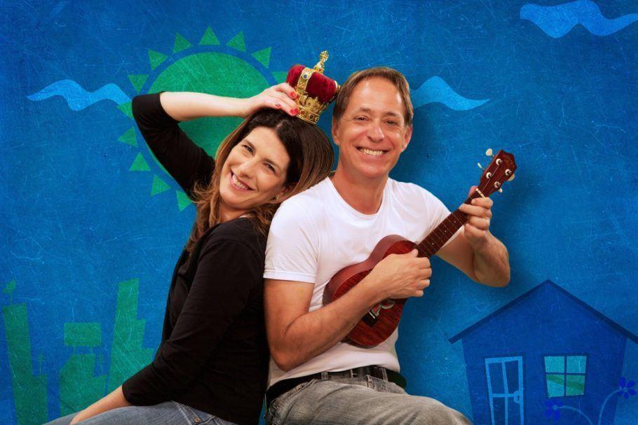 Pedro Cardoso e Grazilla Moretto fazem espetáculo infantil com temporada de 07 de julho a 26 de agosto aos sábados e somingo, às 16h.