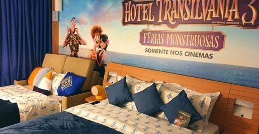 Rede de hotéis cria quarto temático do filme 'Hotel Transilvânia'